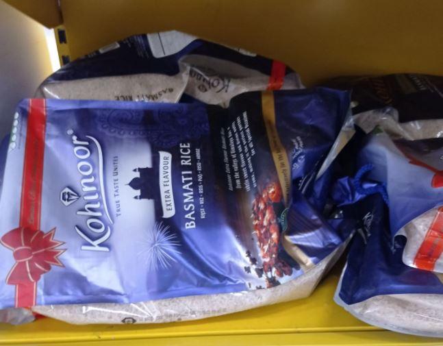 Kohinoor extra flavour basmati rice 8kg bag £5.75 instore @ Tesco Bedworth