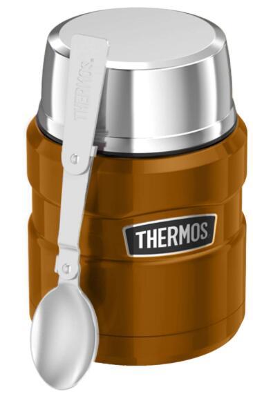 Thermos Stainless King Food Flask, Copper, 470 ml - £13.33 Prime / +£4.49 non Prime @ Amazon