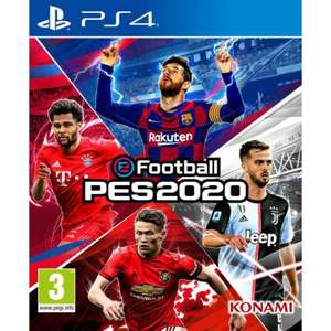 eFootball PES 2020 (PS4) £9.95 delivered at The Game Collection
