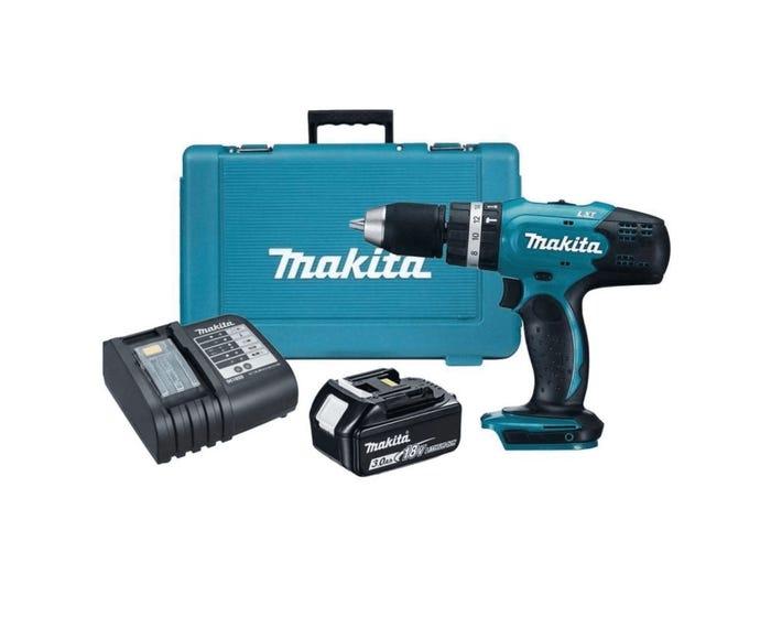 Makita DHP453SF 18V 1 X 3.0Ah Li-Ion LXT Cordless Combi Drill - £108 + free Click and Collect @ Wickes