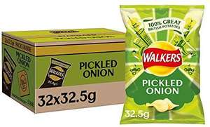 Box of 32 Full sized Pickled Onion Crisps - £13.99 Amazon Prime Exclusive