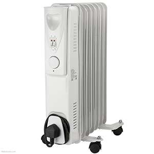 Daewoo Oil Filled 1500W Portable Radiator with Thermostat and Temperature Control £15.59 (Prime) / +£4.49 (Non Prime) delivered @ Amazon