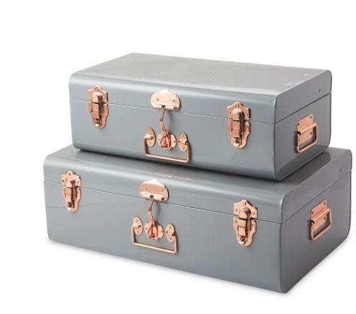 Grey Storage Trunk Set £39.99 at Aldi