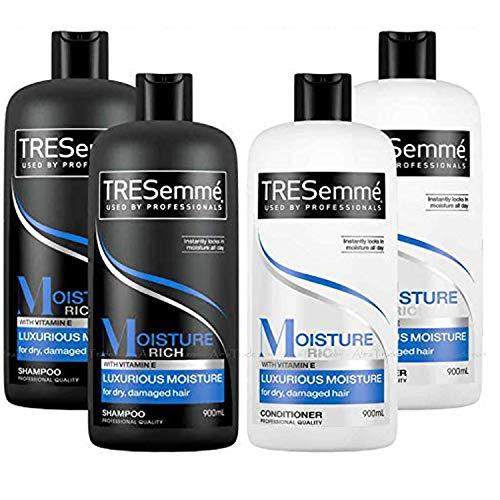 TRESemme Hair Shampoo and Conditioner Moisture Rich Pack Set, 3600ml £10.99 Prime / £15.48 Non-Prime @ Amazon