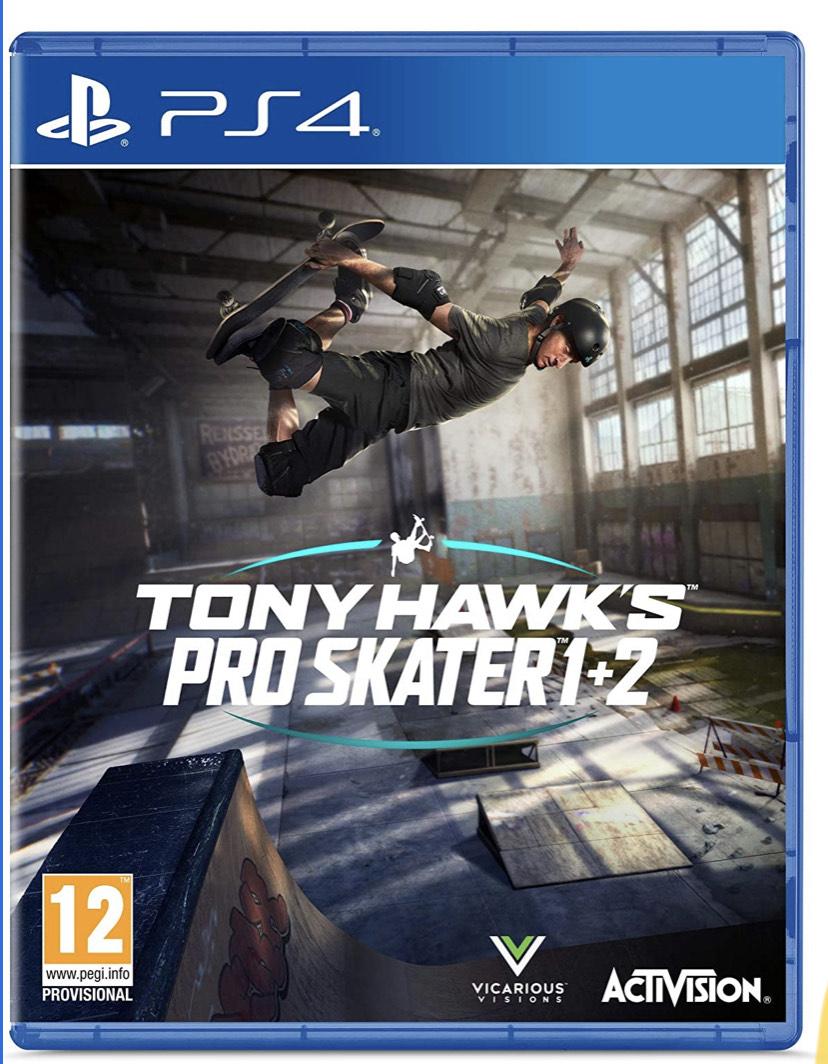Tony Hawk pro skater 1 + 2 PS4 £32.04 at Amazon
