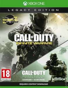 Call of Duty: Infinite Warfare: Legacy Edition Inc MW Remastered (Xbox One) £5.48 Delivered (Using Code / Pre Owned) @ Music Magpie