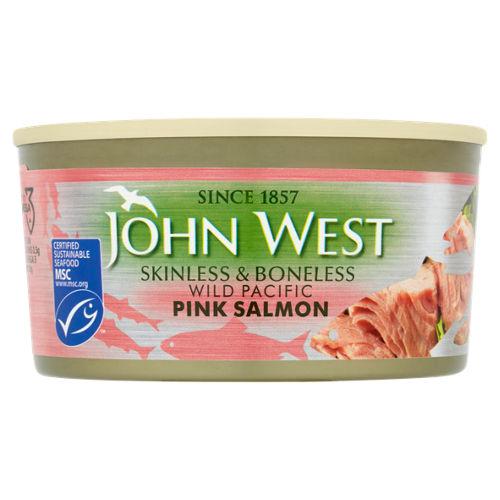 John West Skinless & Boneless Wild Pacific Pink Salmon 170g, instore offer only £2.35 at Asda Birmingham (Small Heath)