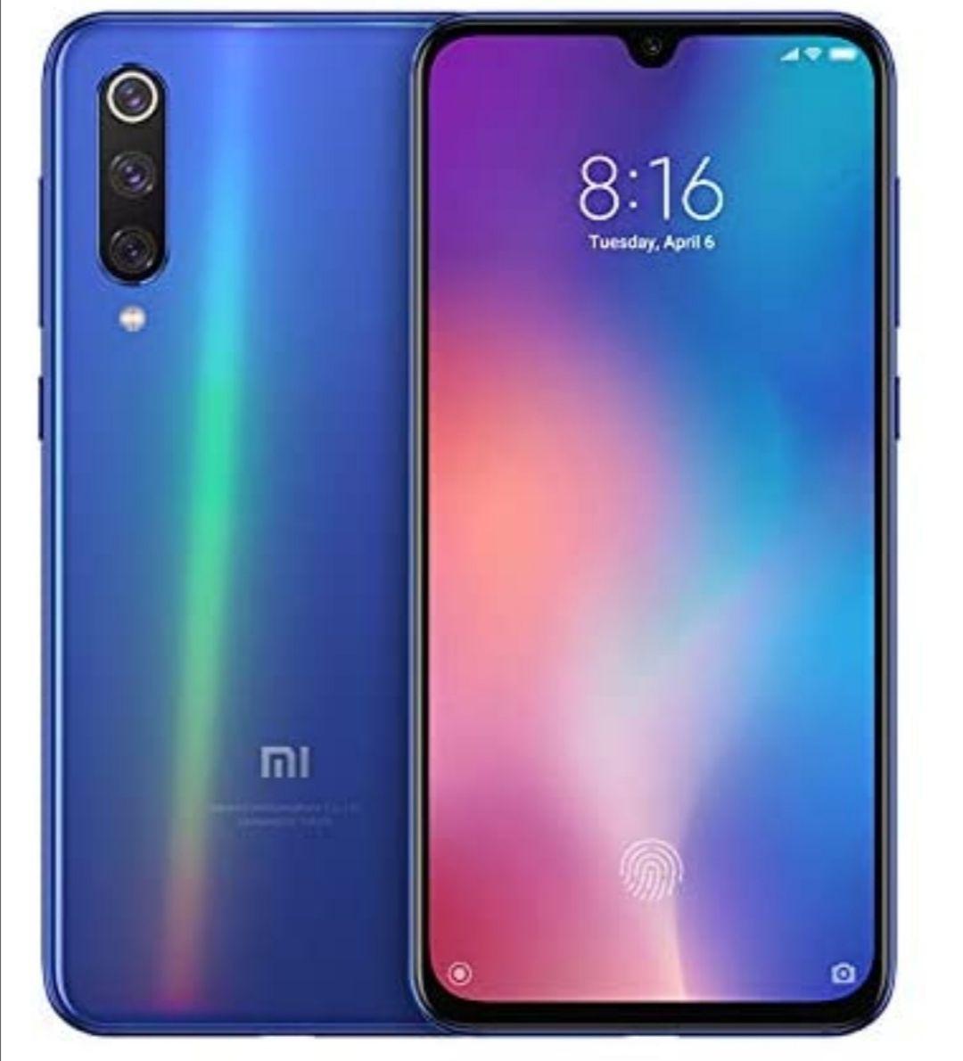 Xiaomi Mi 9 SE, Dual Sim 64GB 6GB RAM, Full UK Warranty- Ocean Blue/Black Good Condition Smartphone - £167.99 @ Sold By Livewire Telecom FBA