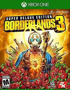 Borderlands 3 super deluxe (Xbox One) - £34.08 delivered @ Amazon US