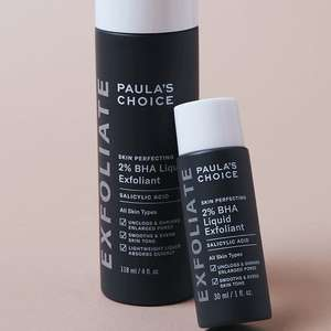 Trial Size Skin Perfecting 2% BHA Liquid Exfoliant 30ml - £8 Delivered at Paula's Choice