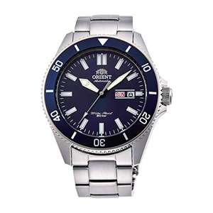 Orient Mens Analogue Automatic Watch with Stainless Steel Strap RA-AA0009L19B - Blue Automatic Divers Watch £157.80 @ Amazon