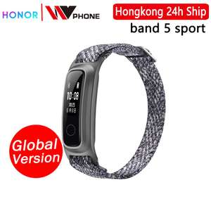 Huawei honor Band 5 sport edition for £10.01 delivered @ AliExpress Deals / hongkong willvast Store