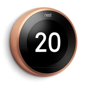 Google Nest Learning Thermostat - 3rd Generation, Copper £150 @ Amazon