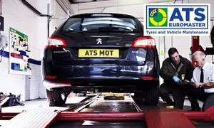 MOT test, vehicle and battery health check and 10% off repairs £18.49 via Groupon