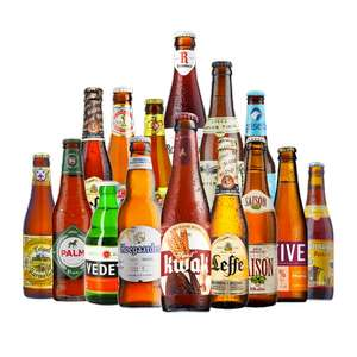 15 Belgian Beers for £31.99 delivered at Beer Hawk