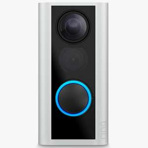 Ring Smart Door View Cam with Built-in Wi-Fi & Camera, Black with Satin Nickel £89 using 'My John Lewis' code @ John Lewis & Partners