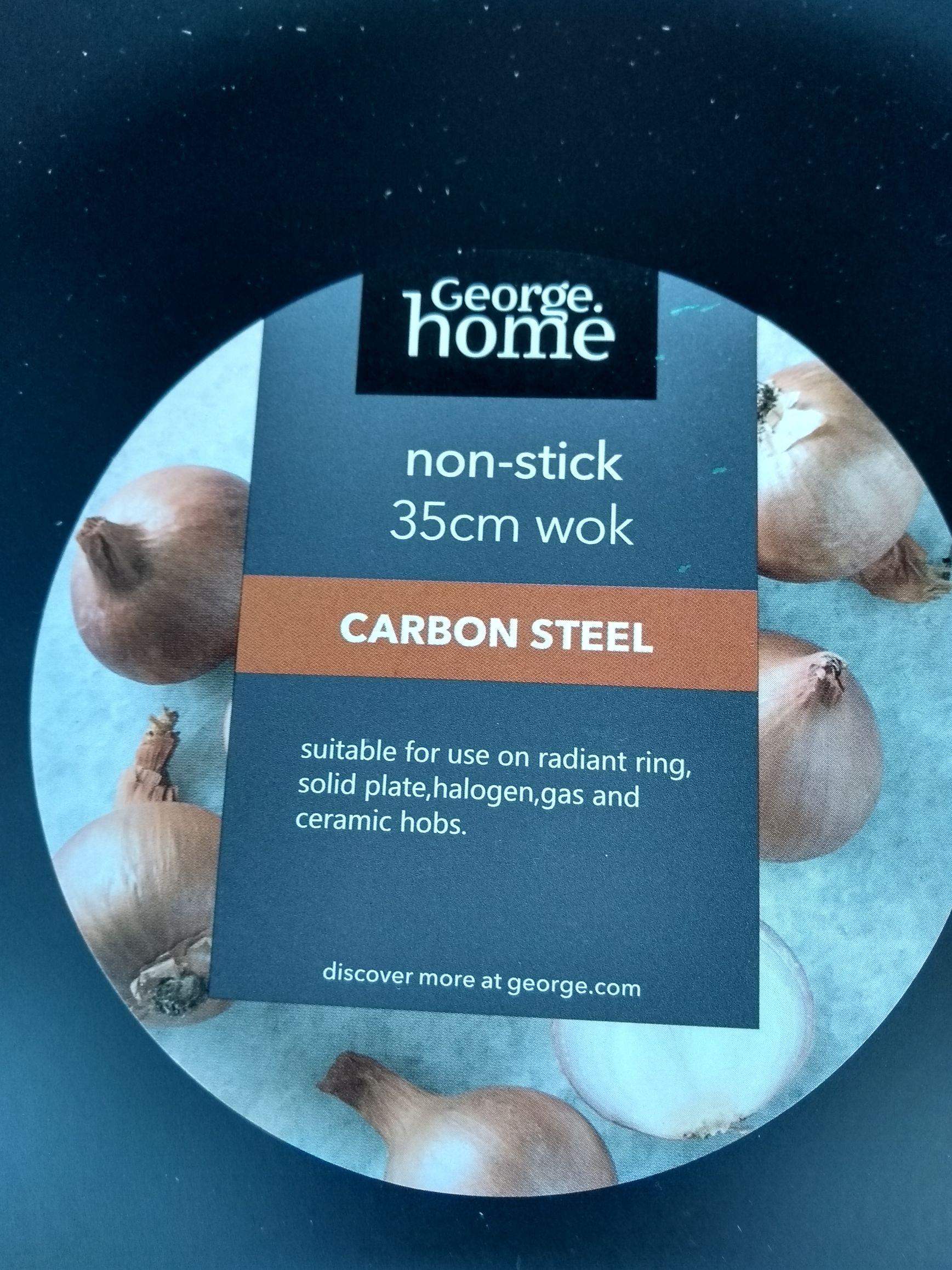 George Home Steel Wok - 35cm £1.25 at Asda North Hykeham