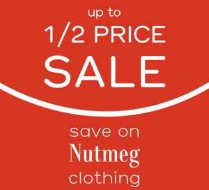 Nutmeg - Up To Half Price Sale online and in store @ Morrisons