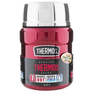 Thermos King Food Flask Red 470Ml - £13.33 at Sainsbury's