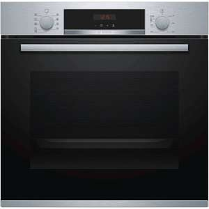 Bosch HBS573BS0B Pyrolytic Built-In Single Oven, Stainless Steel £379 + £70 cashback at John Lewis & Partners