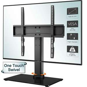 "TV pedestal table top stand up to 55"", VESA compatible £19.99 delivered @ eBay / lcd-wall-brackets"