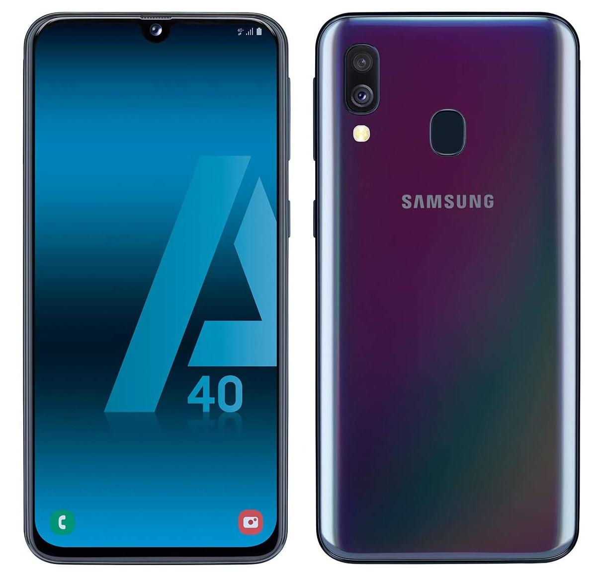 "Samsung Galaxy A40 5.9"" 64GB SIM Free Unlocked Smartphone Black - Spanish Version - £143.76 delivered @ Amazon"