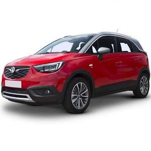Vauxhall Crossland X Hatchback PCH 6 X 24 lease - total contract £3041.23 at Leasing.com