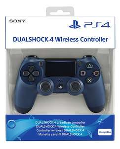 DualShock 4 Controller (Midnight Blue / Red / Black / White) £38.85 Delivered @ Shopto