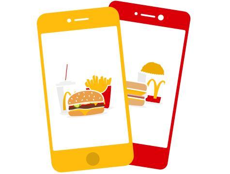 Sandwich and Medium Fries £1.99 (Via App - selected accounts) @ McDonald's