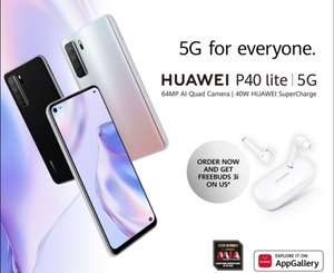 New Huawei P40 Lite 5G Smartphone + Redeem Huawei Freebuds 3i Headphones (128GB 6GB) - £271.99 With Code @ Technolec / Ebay