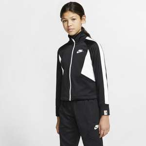 Older Kids' (Girls') Full-Zip Jacket Nike Sportswear Heritage tracksuit for £22.78 delivered (using code) for Nike members @ Nike