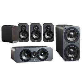 Q Acoustics 3010 x2, 3090C and 3070S Subwoofer (Graphite) £429 at Richer Sounds