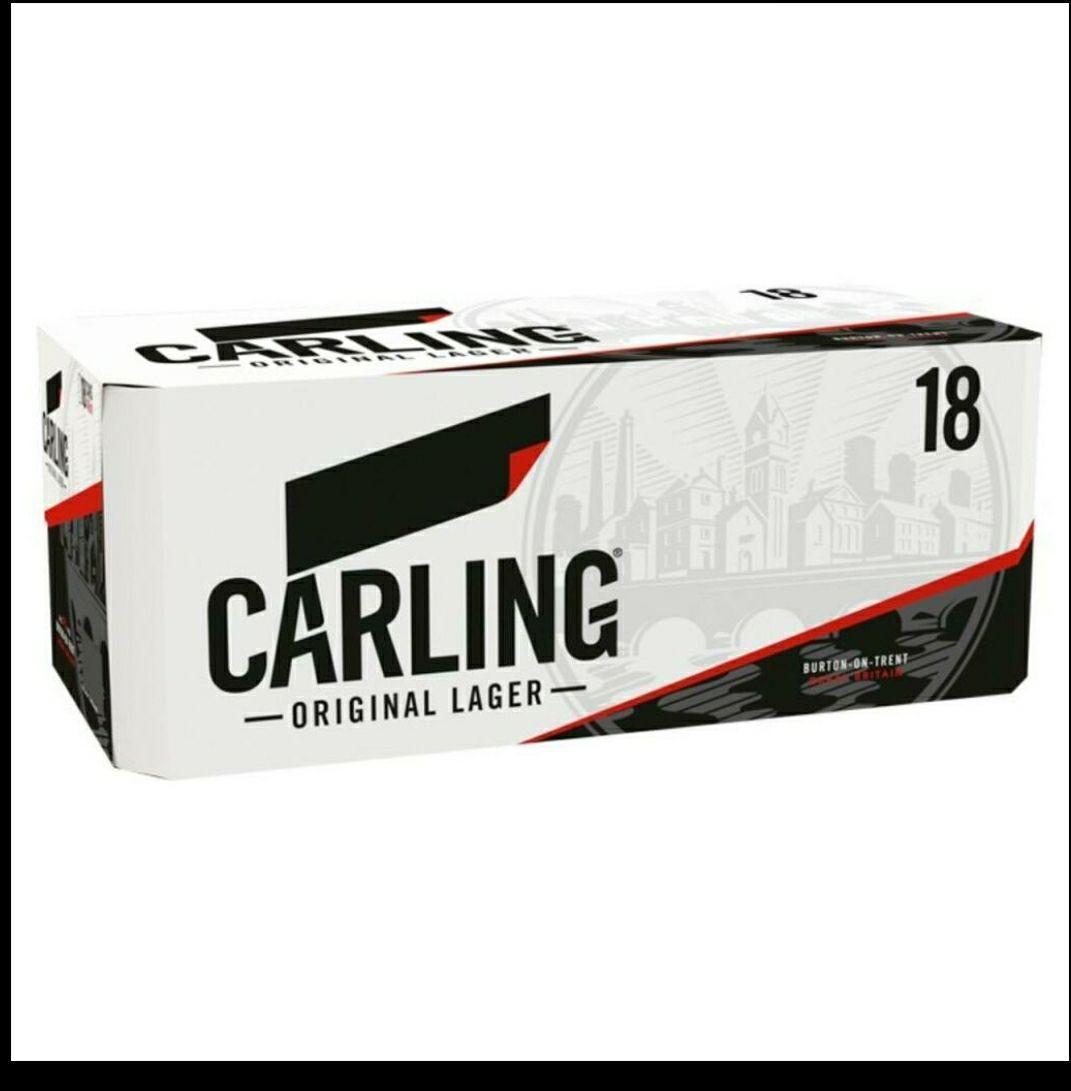Carling Black Label Lager £10 at Aldi Ewell
