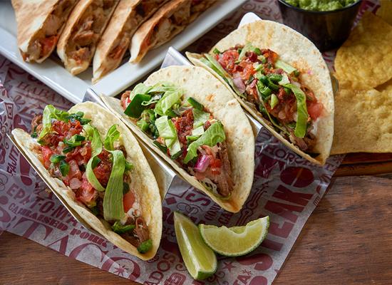 £1 Taco Thursdays (from 3pm - minimum 3 tacos per order) @ Tortilla