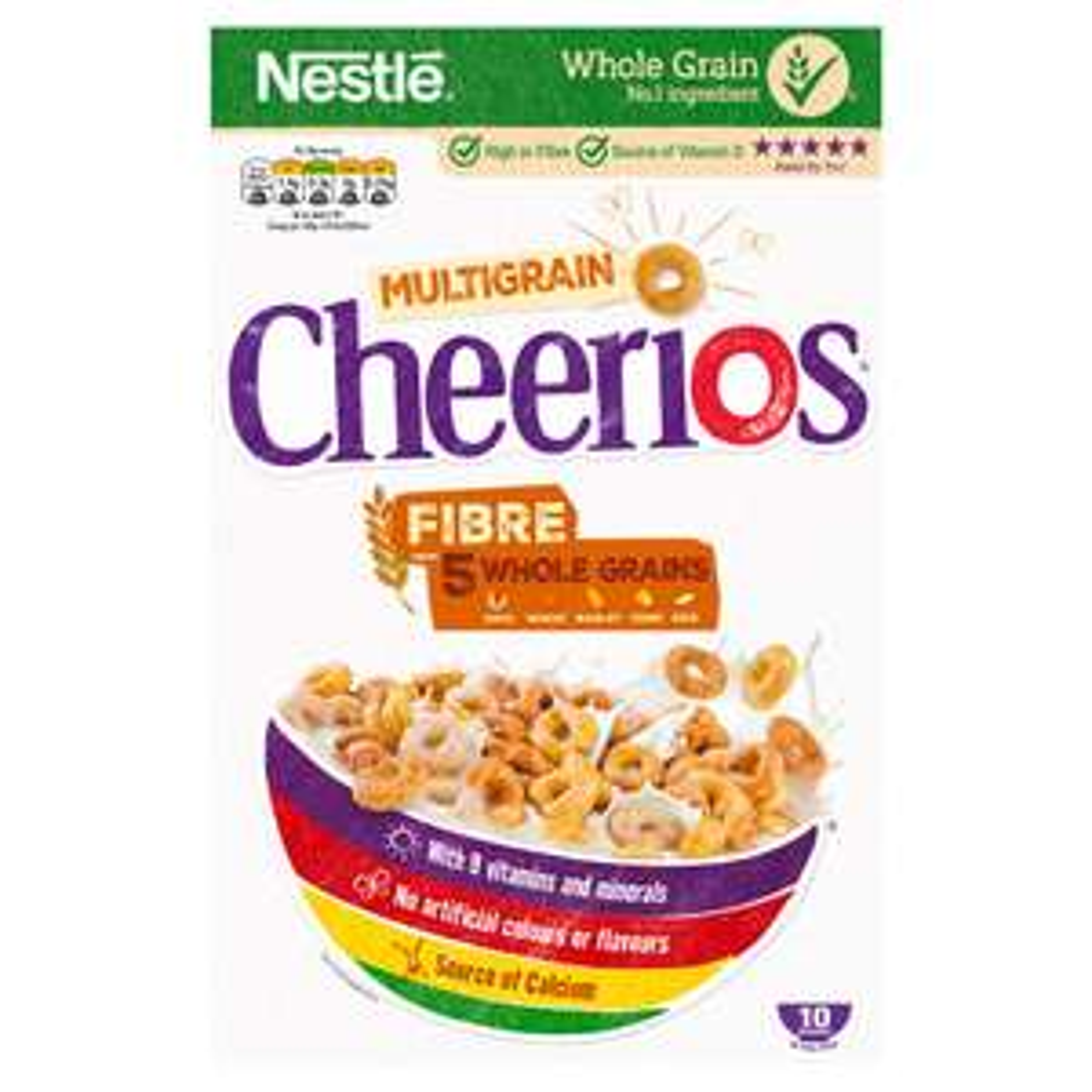 Nestle Cheerios Multigrain Cereal 300g £1 @ Sainsbury's