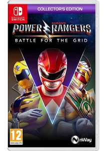 Power Rangers: Battle for the Grid Collectors Edition (Nintendo Switch) Pre-order £22.85 delivered at Base