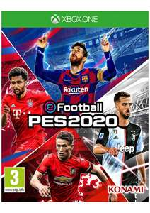 E Football PES 2020 on Xbox One £9.99 delivered at Simply Games