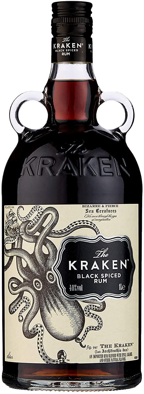 Kraken Black Spiced Rum 1L £28.56 on Amazon