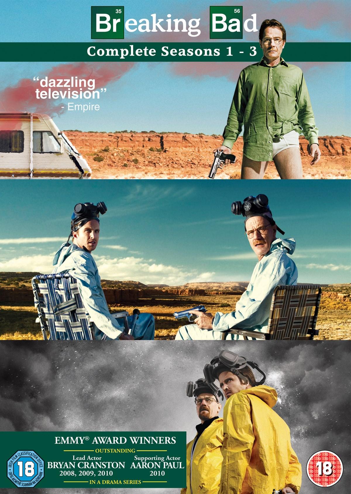 Breaking Bad: Seasons 1-3 (Box Set) [DVD] £3.26 @ Zoom