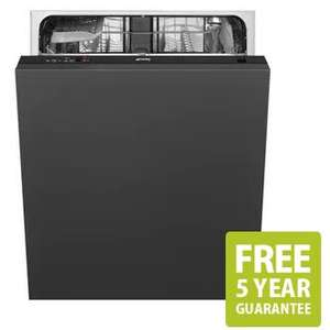 Smeg DI12E1 60cm Fully Integrated Dishwasher 12 Place A+ £329 delivered @ Sonic Direct