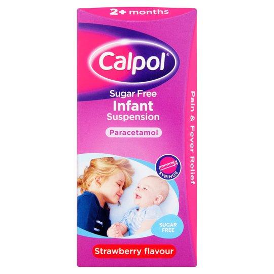 Calpol Infant Sugar Free 100Ml £2.99 @ Tesco