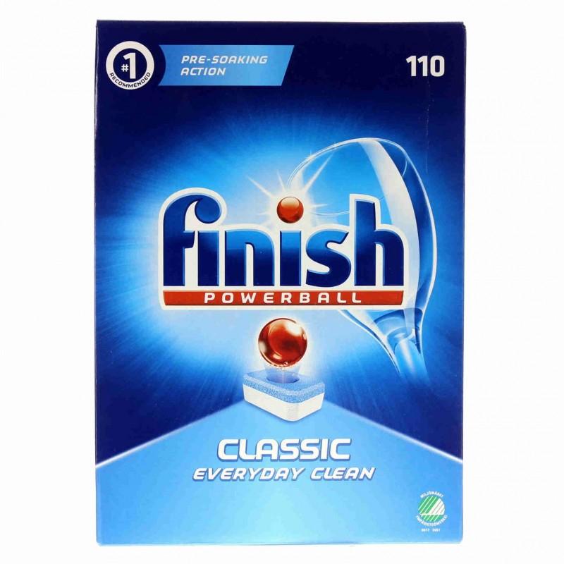 Finish Powerball Classic Dishwashe Tablets 110 - £8 instore @ OneBelow, Berkshire