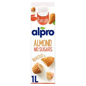 Alpro Almond No Sugars Roasted Chilled Drink 1L - £1 @ Co-operative