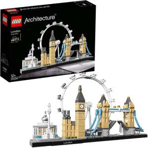 LEGO 21034 Architecture London Skyline Model Building Set £32.67 - Sold by Toys for Fun UK and Fulfilled by Amazon