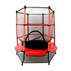 55 inch kids safety netted trampoline - £52.99 Delivered @ Oypla