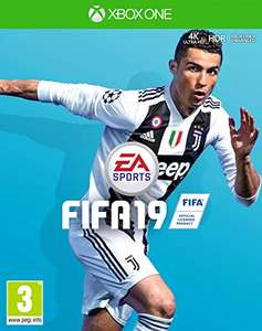 Fifa 19 (Xbox One) NEW 50p Prime / £3.49 Non-Prime Amazon