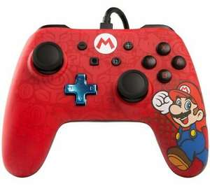 POWERA Nintendo Switch Wired Controller - Mario, £16.99 at Currys/ebay