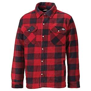 Dickies Portland shirt jacket large or XL in red and black for £25 click & collect @ Wickes