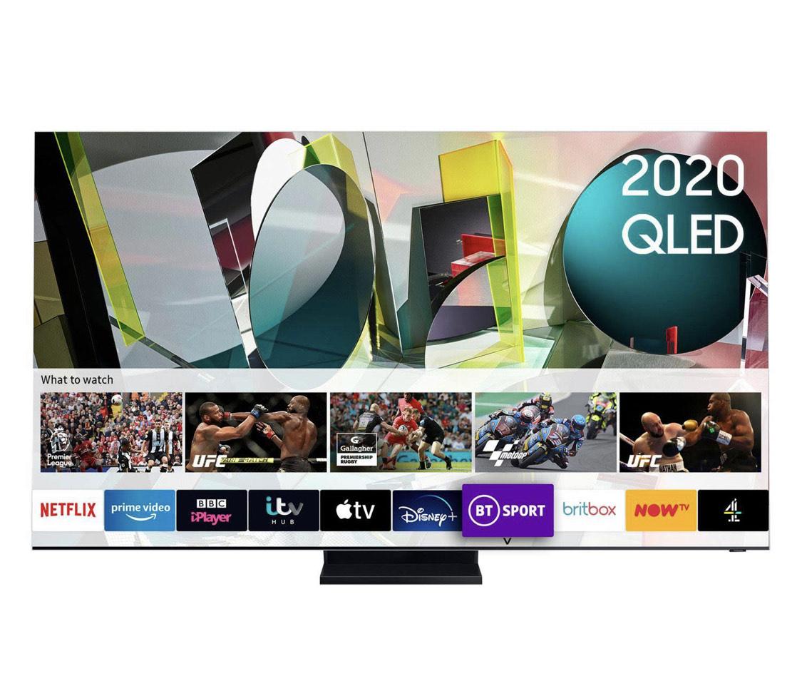 "Samsung 2020 75"" Q950TS Flagship QLED 8K HDR 4000 Smart TV £6479 at Heals"
