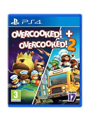 Overcooked! + Overcooked! 2 (PS4) £15.85 @ Base